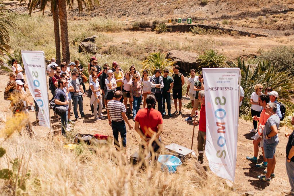 Actividad RSC Nespresso Gran Canaria